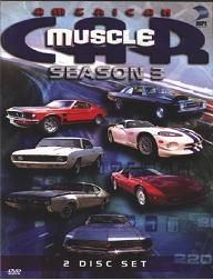 American Muscle Car Season 3 DVD Video Ford Chevy Dodge 030306777894