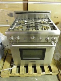 Thermador PRG304EH 30 Professional Natural Gas Range Stainless Steel