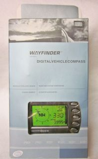 V6000C Digital Car Compass Thermometer Altimeter and Barometer