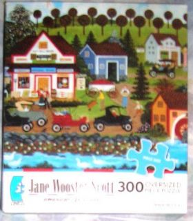 Ceaco Jane Wooster Scott American Folk Art 300 LRG Oversize Pieces