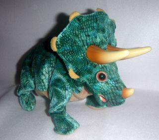 2008 Triceratops Dinosaur Toy Animated Playskool Hasbro Kota & Pals