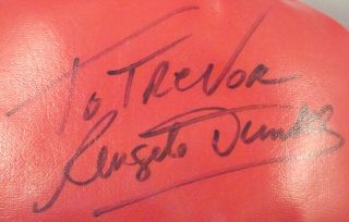 Angelo Dundee Autographed 16oz Boxing Glove w COA