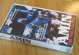 Amin The Rise and Fall VHS 1982 Video Dictator Idi Amin Uganda Joseph