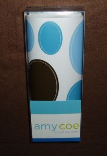 New Amy COE Dot 2 Dot Wall Decals Appliqués Blue Brown