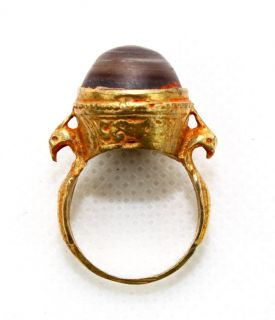 Antique Arabic Islamic Gold Ring from Andalusia Spain