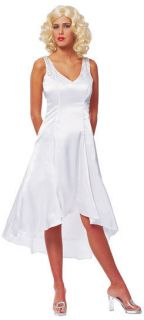 Ann Darrow Kong Marilyn Monroe Dress Sexy Adult Costume