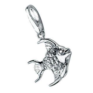 Giorgio Martello Lucky Charms Silver Angel Fish Charm