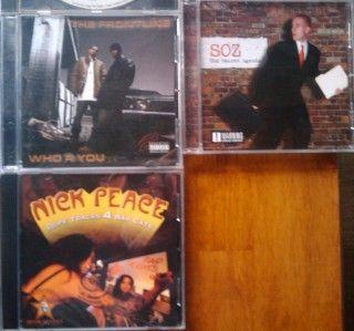 Gangsta Hardcore Rap Hip Hop CD Lot Bay Area 30 CDs RARE Luniz Mac Dre