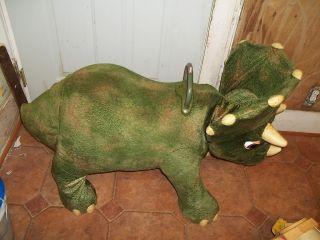 Playskool Kota My Triceratops Dinosaur Animated Motion Ride On