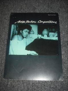 ANITA BAKER COMPOSITIONS PIANO VOCAL CHORDS NOS SHEET MUSIC SONG BOOK