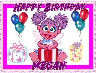 abby cadabby frosting sheet edible cake topper one day shipping