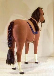 AMERICAN GIRL LARGE HORSE PENNY    FELICITYS HORSE W/ SADDLE ETC