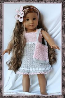 Annabellas Day Out Crochet Pattern for 18 inch Dolls and American