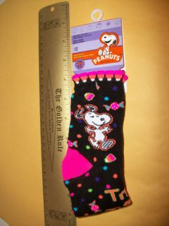new snoopy peanuts pair girl sock halloween candy corn