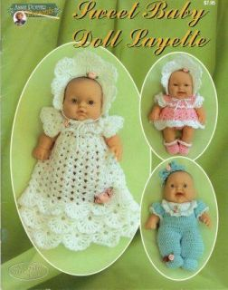 Pattern Sweet Baby Doll Layette Clothing Basket Bag Annie Potter VTNS