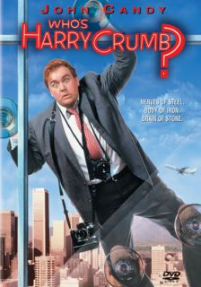 Whos Harry Crumb New DVD John Candy Annie Potts