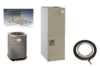 13 Seer 4 Ton Central AC w Condenser   Air Handler   Heat Strips