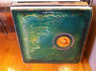 Alice Cooper Billion Dollar Babies vinyl LP 1973 w/Dollar Bill INSERT