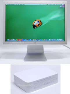 Apple Cinema Display with Power Adapter  A1081 20 Widescreen LCD