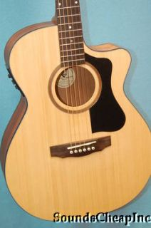 Guild AO 3CE Arcos Orchestra Acoustic Electric Guitar w Polyfoam Case