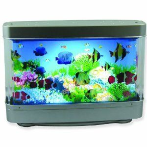 Aquarium Lamp with Fish  Ocean in Motion Revolving Aquatic Scene