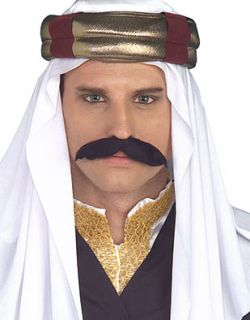 New Adult Arab Persian Turban Headpiece Costume Hat Cap