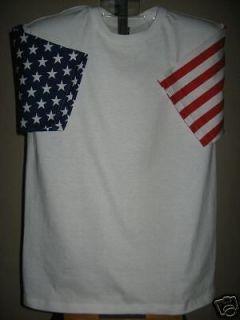 American Flag USA Stars + Stripes T Shirt Tee Unisex XXL 2XL New