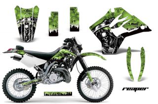 AMR RACING MOTORCYCLE GRAPHIC DECAL MX WRAP KAWASAKI KDX 200 220 95 08