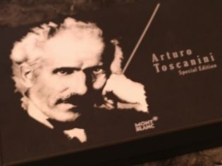 Montblanc Arturo Toscanini Special Edition Black Ballpoint Pen Box Set