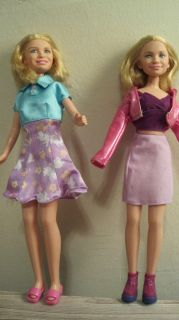 Mary Kate Ashley Olsen Twins 10 Dolls Clothes 1999 Full House with