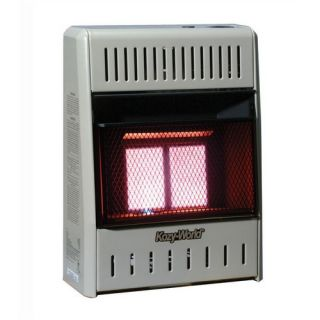 World Marketing 10 000 BTU Infrared Wall Space Heater