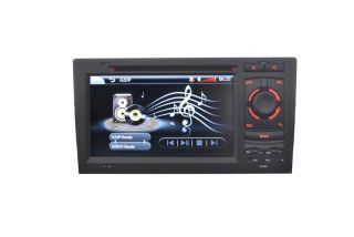 "Audi A8 S8 7"" HD SAT Nav GPS Bluetooth Pip iPod iPhone Digital TV"