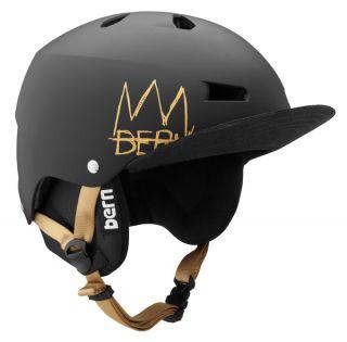 Bern Macon EPS Ski Snowboard Helmet Mat Blk Schneider Pro w Audio Flip