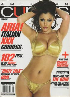 Aria Giovanni American Curves August 2007 NR Mint