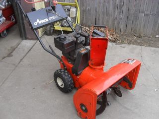 Clean 2 Stage Ariens Snow Blower 5 Horse 24 Cut