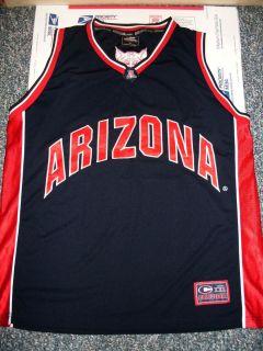 Colosseum Arizona Wildcats Sewn Logos 22 Basketball Jersey 2XL Nice
