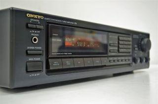 onkyo am fm stereo receiver amplifier amp tuner tx 903