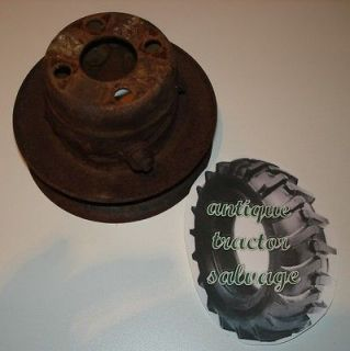 Allis Chalmers C B Tractor Engine Water Pump Pulley Original AC Part