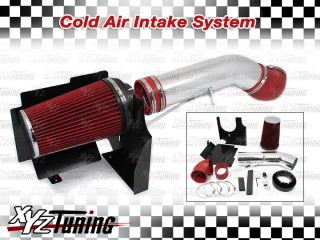 /Chevy V8 4.8L/5.3L/6.0L Heat Shield Cold Air Intake System + Filter