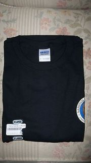 NSA National Security Agency Black Shirt Color Logo Seal NEW XL Extra