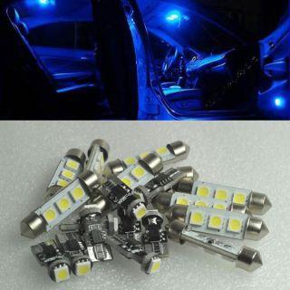 11 Blue led Interior inside light kit for Bmw E39 5 serirs Error Free