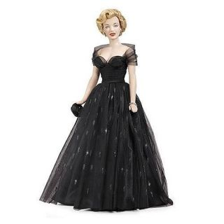 Marilyn Monroe Hollywood Awards Night Vinyl Doll New with COA