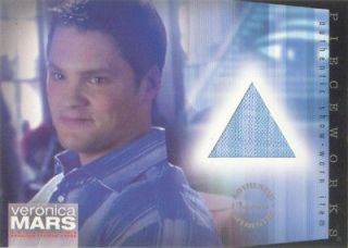 Veronica Mars Season 2   PW 4 Teddy Dunn Duncan Kane Costume Card