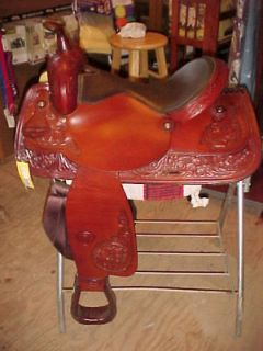 Newly listed Hereford Tex Tan Alamosa Pleasure/Trail Saddle, 16 in.
