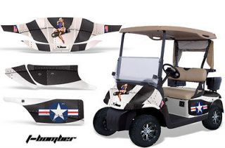 AMR RACING GRAPHIC KIT STICKER DECAL EZGO GAS GOLF CART ACCESSORIES