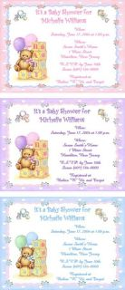 with Blocks Personalized Baby Shower Invitations w Envelopes