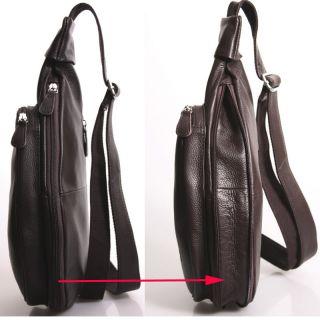 Genuine Leather Sling Shoulder Bags Backpacks Tiding