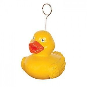 Baby Shower Birthday Photo Holder Balloon Weight Duck Duckie