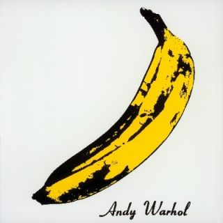 Velvet Underground & Nico BANANA COVER Andy Warhol YELLOW VINYL New