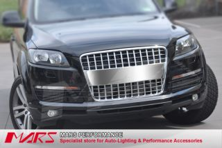 Full CHROME S LINE STYLE FRONT GRILLE FOR AUDI Q7 05 11